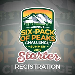 2019 Arizona Summer Six-Pack of Peaks Challenge - Starter Registration
