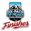 2017 SoCal Six-Pack of Peaks Finisher
