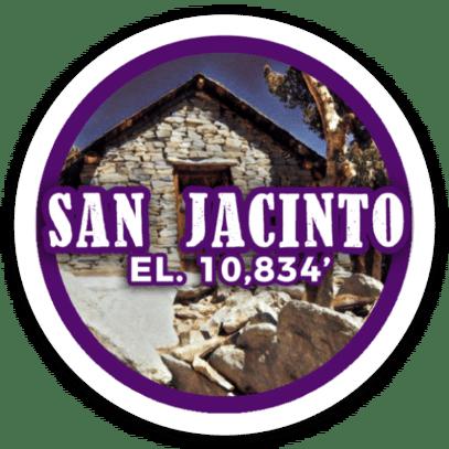 Mount San Jacinto Sticker