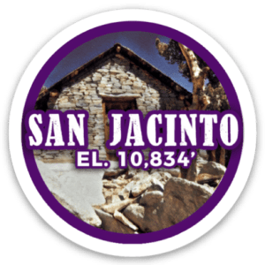 Mount San Jacinto Sticker