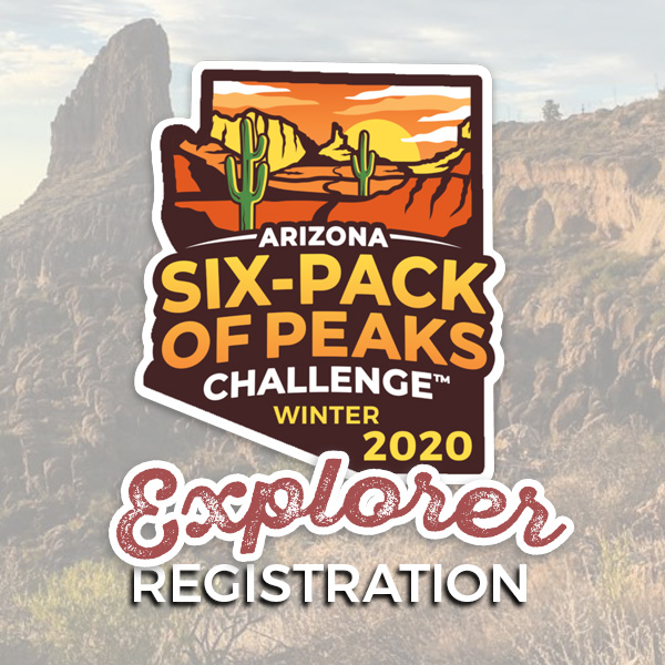 2020 Arizona Winter Six-Pack of Peaks Challenge - Explorer Registration