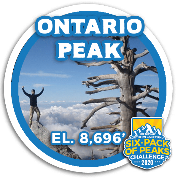 I hiked Ontario Peak