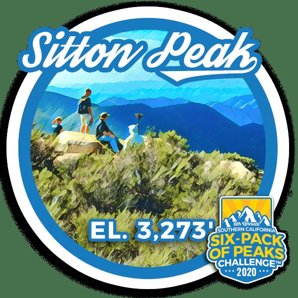 I hiked Sitton Peak