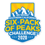 2020 SoCal Six-Pack of Peaks Challenge logo