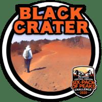 2020 Black Crater Badge