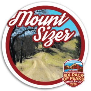 2020 Mount Sizer Badge