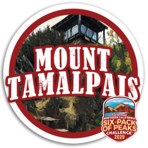 2020 Mount Tamalpais Badge