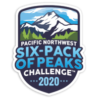 2020 Pacific Northwest Six-Pack of Peaks Challenge logo