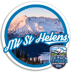 2020 Mount Saint Helens badge