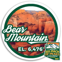 2020 Bear Mountain badge