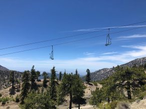 Empty-Ski-Lifts