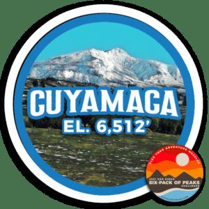 2021 Cuyamaca