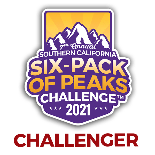 2021 SoCal Six-Pack of Peaks Challenger