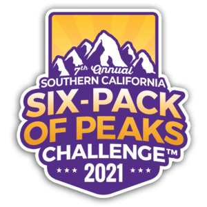 2021 SoCal Six-Pack of Peaks Challenge logo