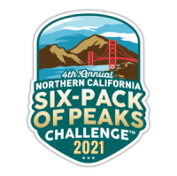 2021 NorCal Six-Pack of Peaks Challenge logo