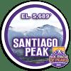 2021 Santiago Peak