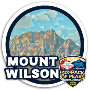 Mount Wilson - Las Vegas Six-Pack of Peaks Challenge