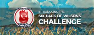 Six-Pack of Wilsons Challenge