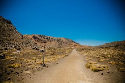 Door de vulkanische vallei