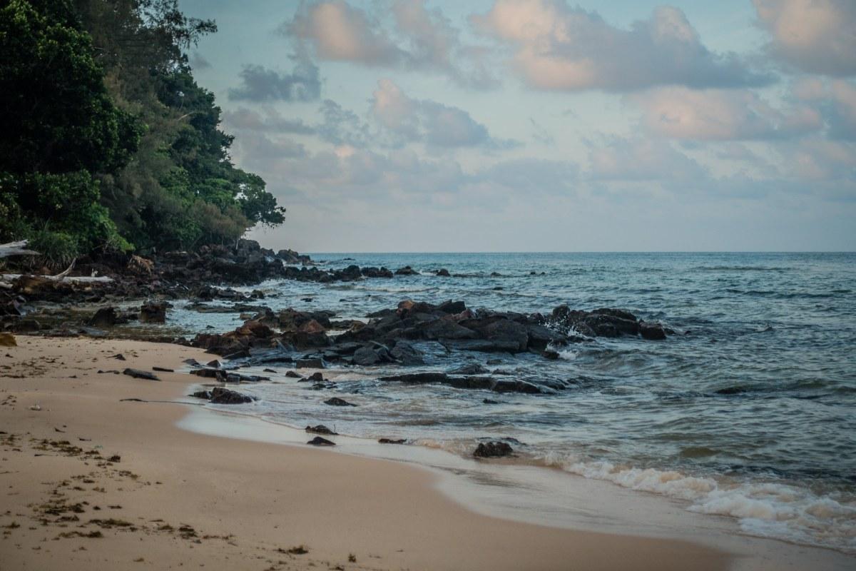 private beach cambodia