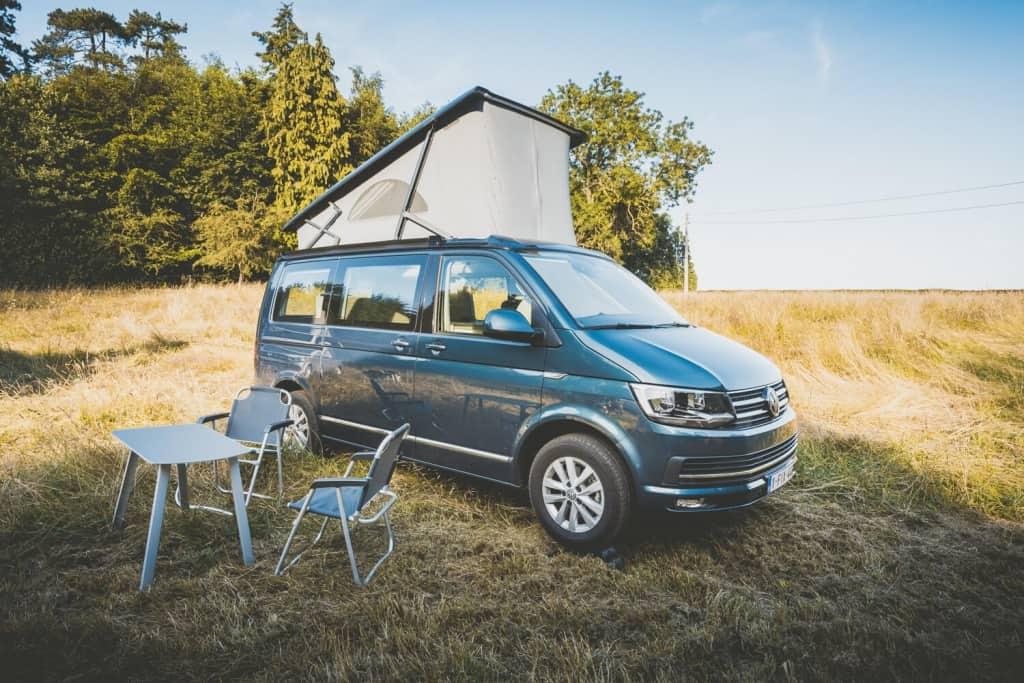 kamperen met auto in belgie