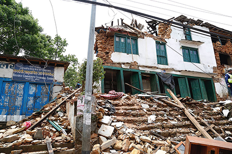 Following earthquakes, building a more resilient Nepal | News ...