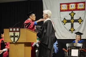 Dean Michelle Williams and Cecile Richards