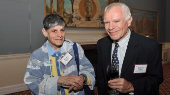 Dorothy Ganick and Richard Seder