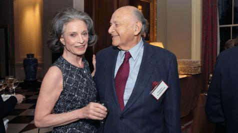 Deeda Blair and Maurice Tempelsman