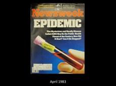 Newsweek Cover April 1983