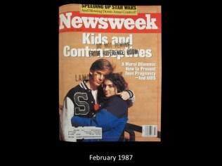 Newsweek Cover February 1987