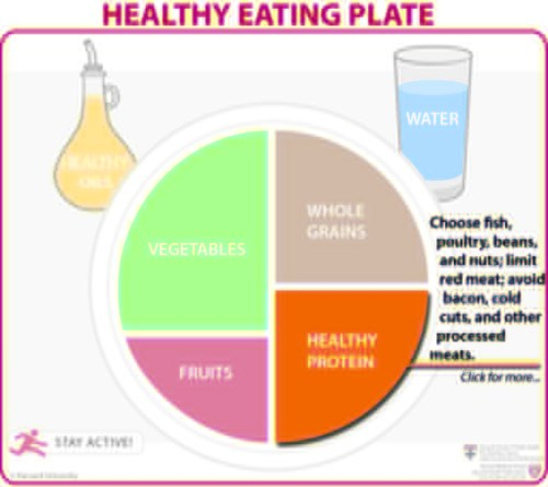 small resolution of healthy eating plate healthy protein