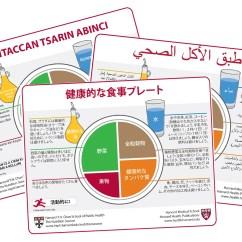 Harvard Food Plate Diagram Speed Sensor Wiring Healthy Eating Translations The Nutrition Source