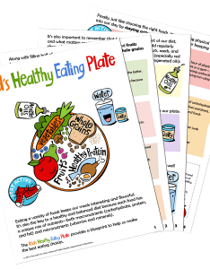 Kid   healthy eating plate printer friendly pdf also the nutrition source harvard   rh hsph