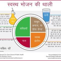 Harvard Food Plate Diagram 5 Circle Venn Generator सवसथ भजन क थल Hindi The Nutrition Source