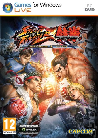 Street Fighter X Tekken PC   - Street Fighter X Tekken (PC) ISO 2012