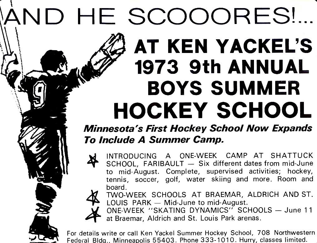Minnesota Summer Hockey School/Camps