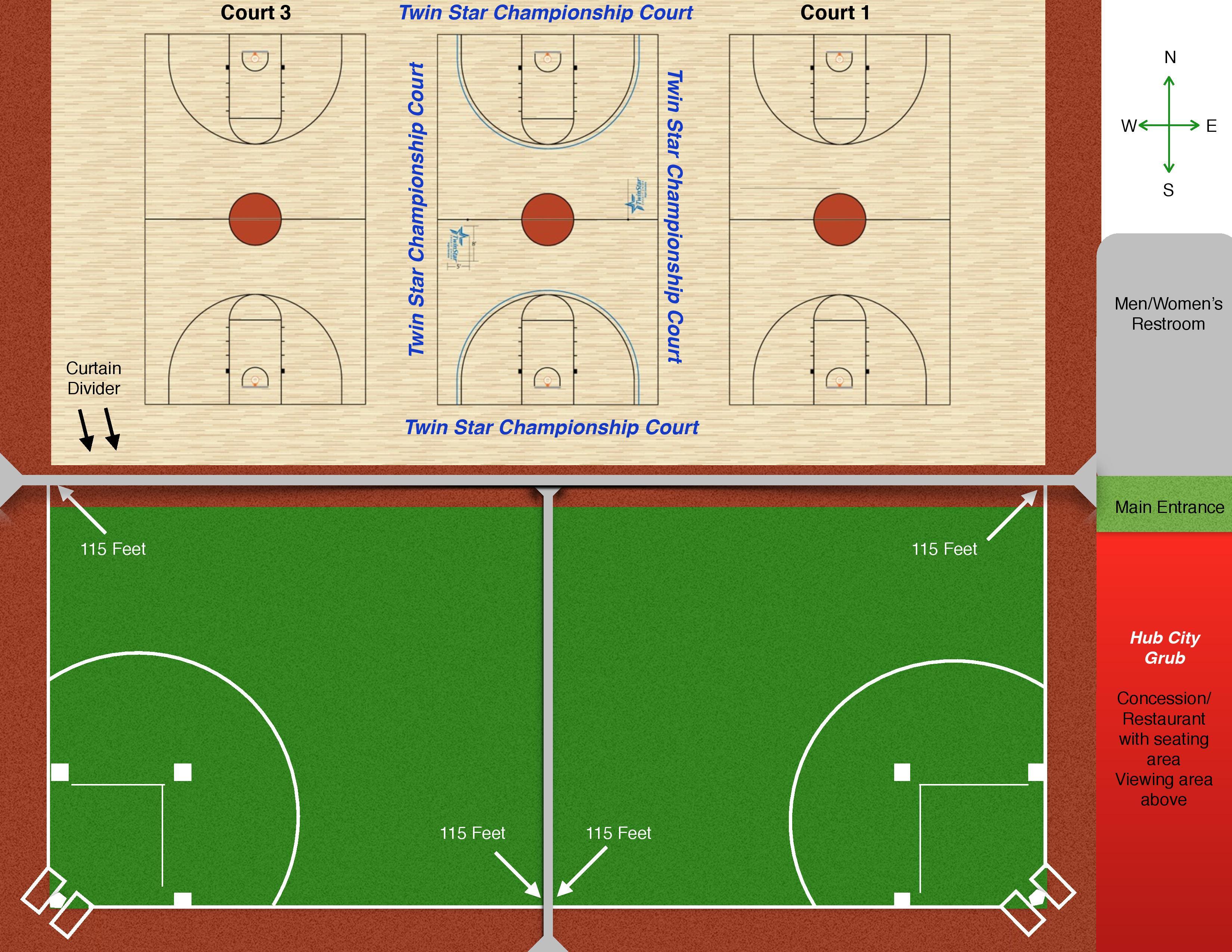 regulation baseball field diagram honeywell thermostat wire basketball court layout all scores info