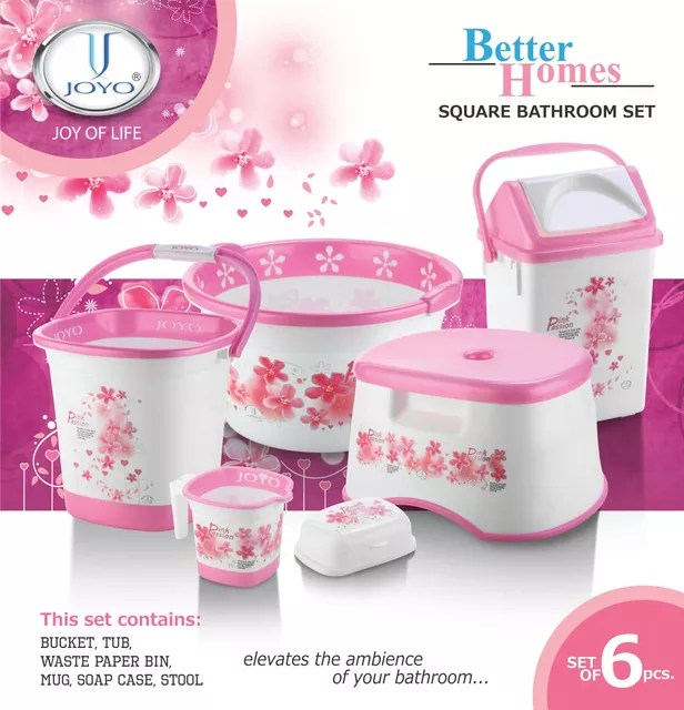 Joyo Better Home Square Bathroom Set