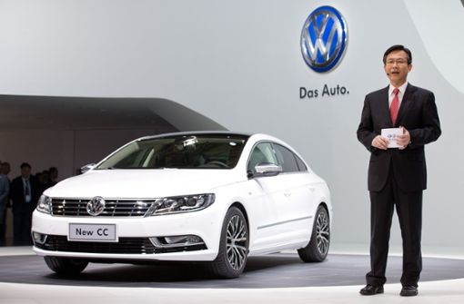 Volkswagen has teamed up with the Chinese joint venture FAW-Volkswagen Automotive - this was announced at the China International Import Expo in Shanghai. (Icon) Photo: dpa
