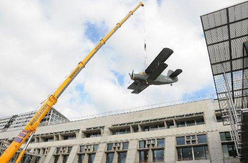 Flughafen Stuttgart Abflug Der Oldtimer Flugzeuge Werden