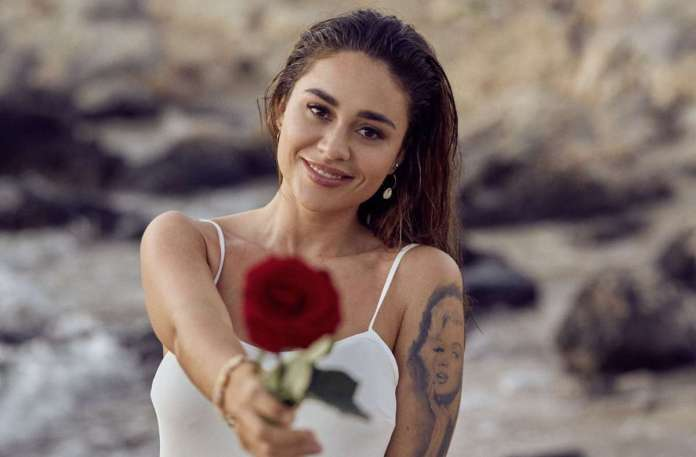 "Melissa Damilia from Stuttgart, the ""Bachelorette"" of the previous season, is still with the winner Leander.  (Archive image) Photo: RTL / TVNOW"