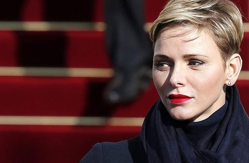 Charlène Von Monaco Die Fürstin Etabliert Den Royalen Undercut