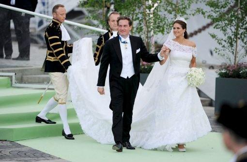 Brautkleider Der Prinzessinnen Prinzessin Madeleine Tanzt Aus Der