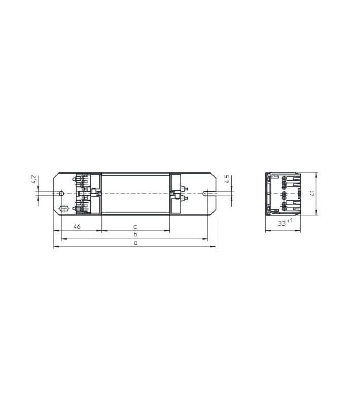 Vossloh Ballast SL30.315 120V 60HZ T8 160374 4014364603711
