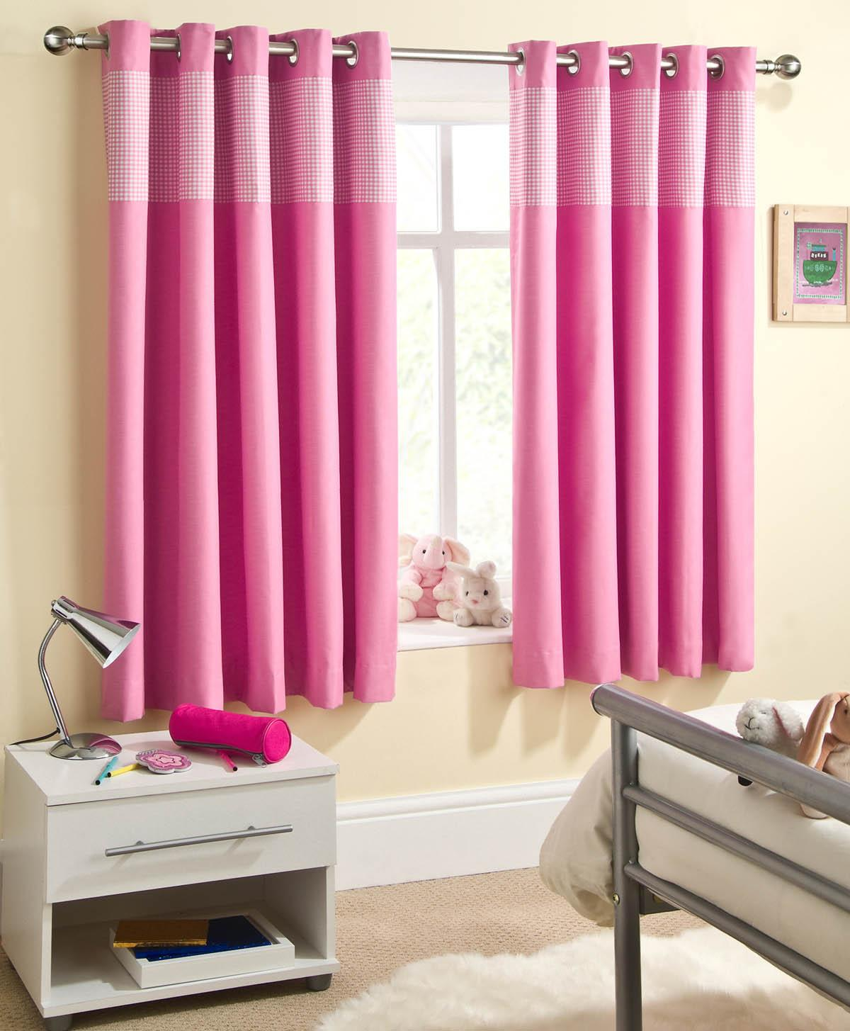 Sweetheart Dim Out Eyelet Curtains Pink Eyelet Curtains Cheap