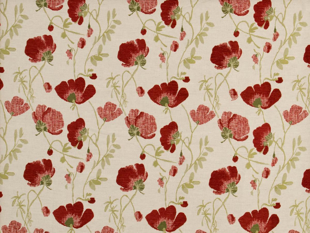 Serafina Curtain Fabric Rouge Cheap Jacquard Curtain Fabric UK