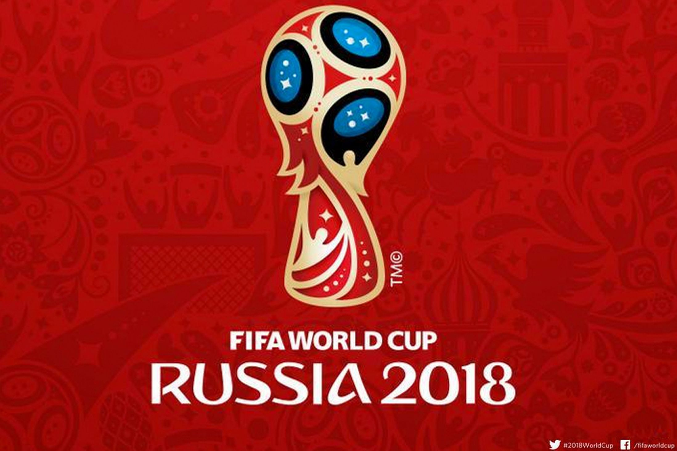 Russia Unveils Logo For 2018 World Cup 32 Flags