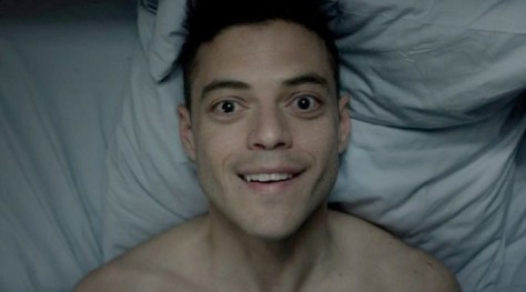 Happy Elliot Alderson in Mr. Robot S2