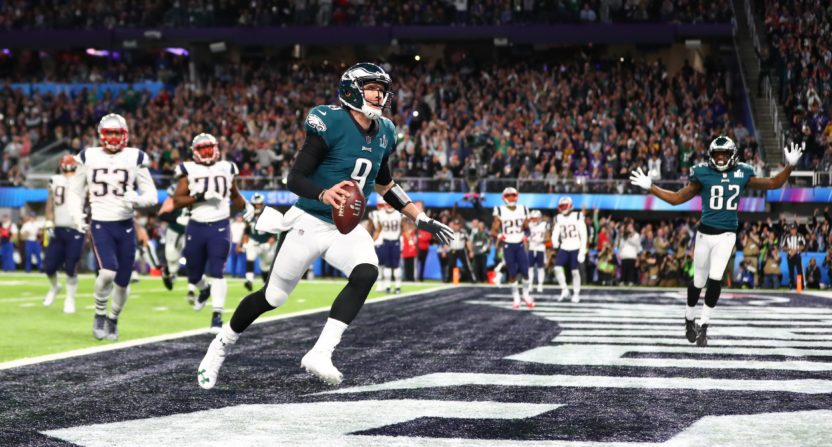 Image result for eagles vs patriots super bowl 52